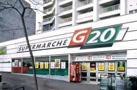 ศูนย์รวมสินค้าอาหารฝรั่งเศสสำหรับซูเปอร์มาร์เก็ต