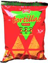 Tortillas chili - chips de mais arômatisé - 100g