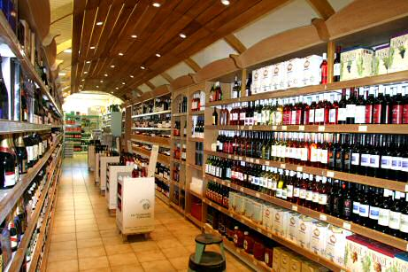 Franchise opportunity Discount supermarket French wines